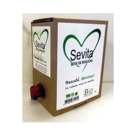 SEVE DE BOULEAU bio fraîche, bag-in-box de 3 litres