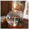 Lampe à huile striée modèle M