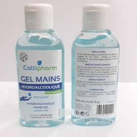 Gel Hydroalcoolique Callipharm - 100ml