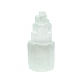 Selenite (Chandelles et galets)